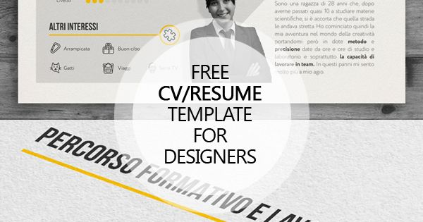 15 Free Psd Cv Resume And Cover Letter Templates Resume Design