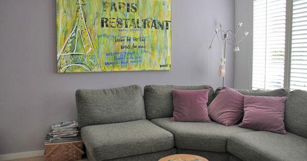 Paris restaurant tekstschilderijen van daniel daniel pinterest paris restaurants - Sofa stijl jaar ...