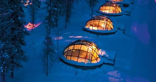 Winter Glamping Rent A Glass Igloo In Finland To Sleep