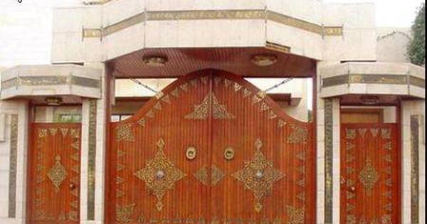 ابواب شقق وفلل خارجية بتصميمات عالمية ميكساتك Entrance Gates Design Gate Design Entrance Gates