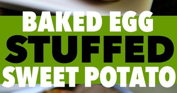 Roasted Sweet Potatoes, Gorgonzola And Baked Eggs Recipe — Dishmaps