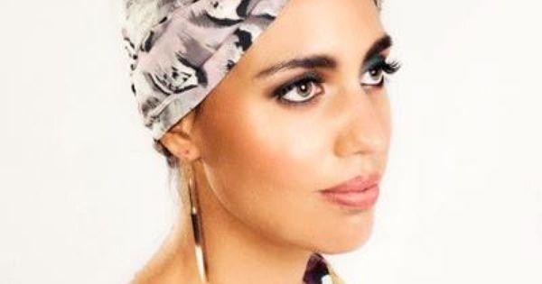 Featherly Head Wrap & Kimono Top   Natural Hair Goals   Pinterest ...
