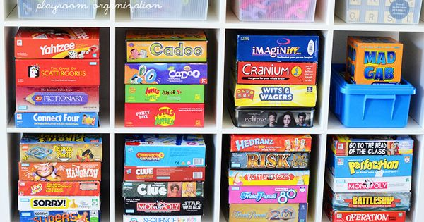 kids games organize