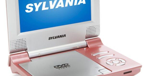 Sylvania Sdvd7014 Pink 7 Quot Portable Dvd Players Pink