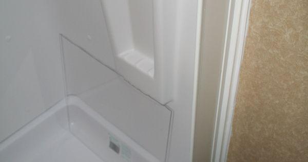 Rockwood Roo 233s Shower Mod Added A Magic White Splash
