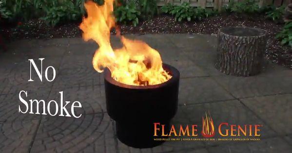Smoke Free Spark Free Portable Fire Pit Video Fire Pit Portable Fire Pits Container Plants