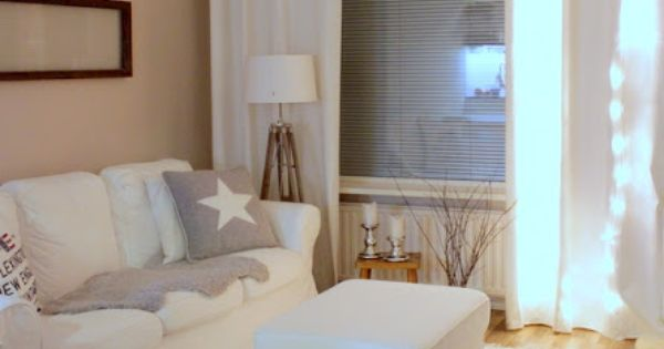 Home Vanilla Living Room Sneak Peek Pinterest