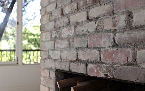 Whitewashed bricks so i picked up some milk paint that i - How to whitewash brick house exterior ...