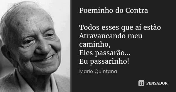 Mario Quintana Citacoes Inspiracionais Citacoes Textos E Frases