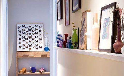 C mo decorar pasillos estrechos hogardiez decoraci n - Decoracion pasillos y recibidores ...