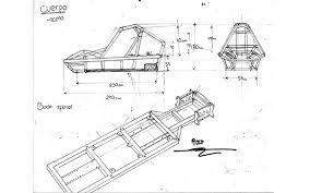 Resultado De Imagen Para Imagenes De Los Planos Del Chasis Del Ford Cobra Imagens