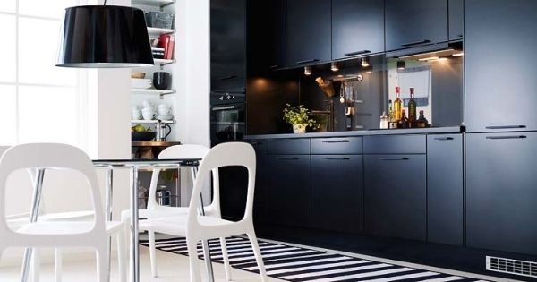 Open kitchen cabinets home design ideas - K 252 Chentrends 2013 Schwarz Wei 223 Moderne K 252 Che Home
