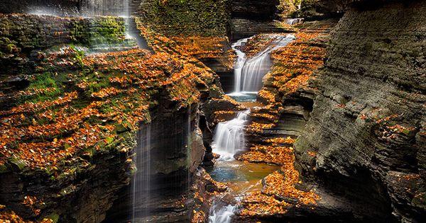 Corkscrew Falls Hocking Hills Ohio Http Travel