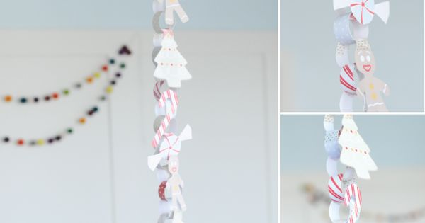 Printable Christmas Countdown Chain (its a cute mini size!)