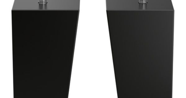 Best leg square black 2 pack article number for Ikea article number