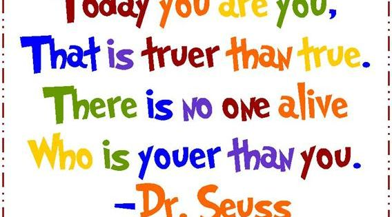 So true Happy Birthday Dr. Seuss - March 2!