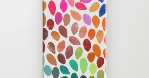 Rain Multicolor iPhone Case. $35