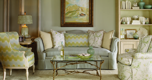 Beautiful Watery Pastels Living Rooms Pinterest