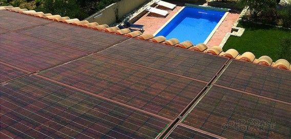 Photo By Colored Solar Solar Solar Panels Solar Pv