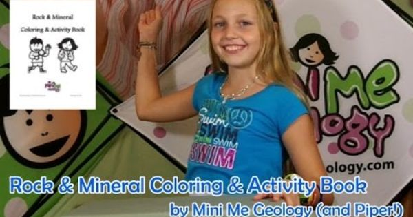 Coloring Book Video by Mini Me Geology - review by Piper. This ...