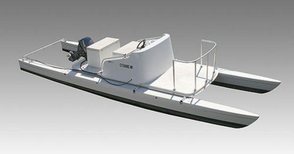 Motor-boat : outboard center console boat (catamaran) 24' LAUNCH Wintech Racing   Boats ...