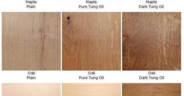 Pure Vs Dark Tung Oil Diy And Home Decor Pinterest