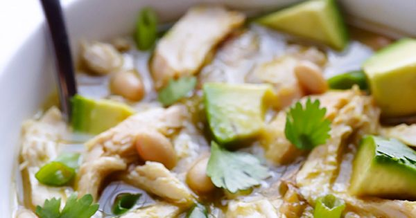 ... 2013 | Easy white chicken chili, Salsa verde and White chicken chili