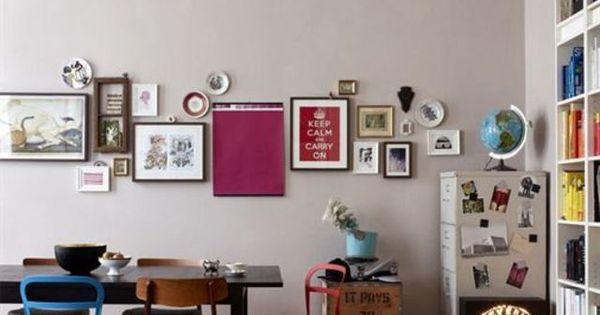 D co murale comment accrocher les cadres au mur for Comment accrocher des photos au mur