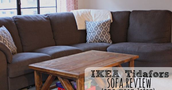 A Review Of The IKEA Tidafors Sofa After One Year