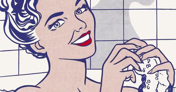 Visto Museo Thyssen 23/10/13 Roy Lichtenstein. Mujer en el baño 1963