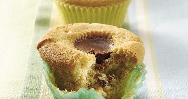 Peanut butter cupcakes.