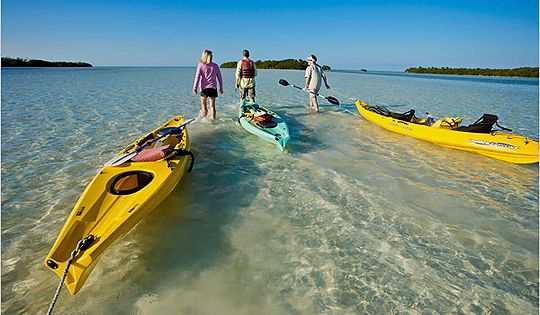 5 places to kayak or canoe in south florida passport for Key west kayak fishing