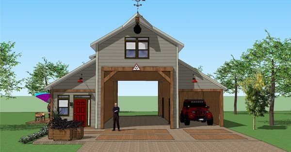 You 39 ll love this rv port home design it 39 s simply for Rv port designs