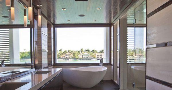 Een houten vloer in donkere houtsoort of donkere gekleurd geeft warmte in een ruimte - Moderne woning buiten lay outs ...