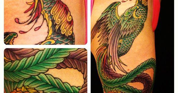 Jason birks hou ou fenghuang tattoos pinterest tattoo for Huma bird tattoo