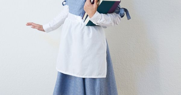 Easy DIY Belle Halloween Costume
