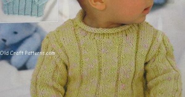 Free Knitting Patterns For Children s Pullovers : free knitted baby sweater patterns for boys Sirdar 1515. Baby Pullover Swea...