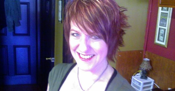 Fun Short Asymmetrical Red Hair With Highlights All About