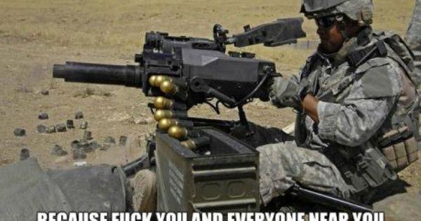 M 47 Striker Because F K You Army Humor Military Humor Military Jokes