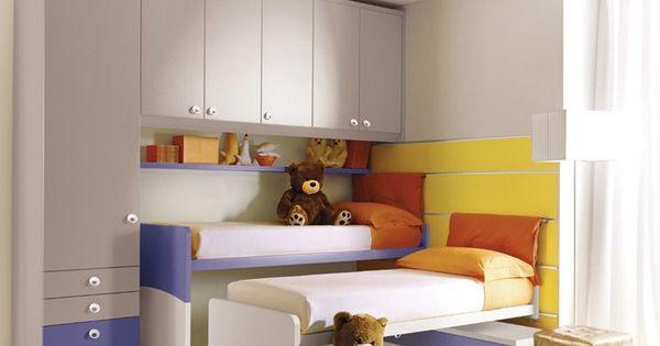 armoire pont de lit pour chambre d 39 enfant mixte 208. Black Bedroom Furniture Sets. Home Design Ideas