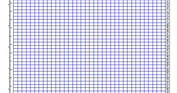 knitting graph paper generator