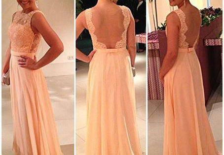 Wholesale Evening Dresses - Buy 2014 Vestidos De Noiva Prom Dresses Backless