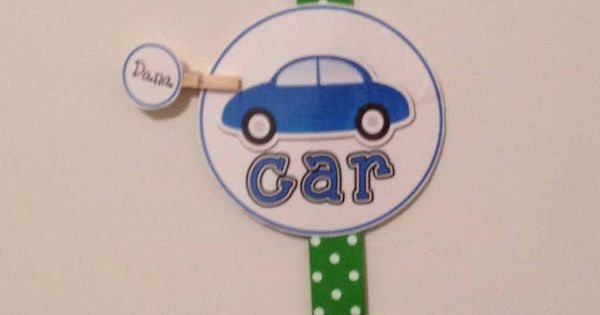 transportation organizer Love this!!! I am making it for back to school