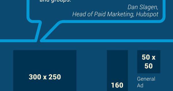 Tamaños de publicidad en Redes Sociales #infografia #socialmedia #marketing