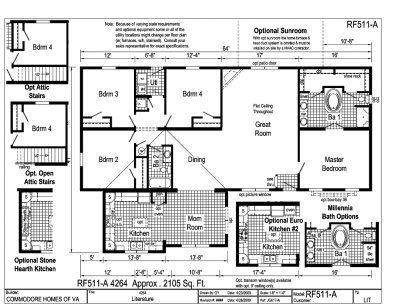 Commodore Homes Custom Built Modular Homes Modular Home Floor Plans Floor Plans Modular Homes