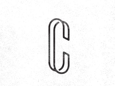Cc Monogram Inspiracion De Diseno Diseno De Logotipos Disenos De Unas