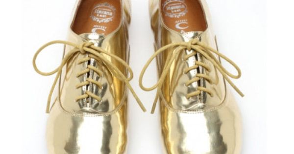metallic oxford Jeffrey Campbell