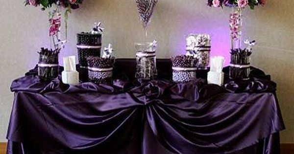 exclusive wedding decor purple wedding ideas for tables purple and black wedding 3949
