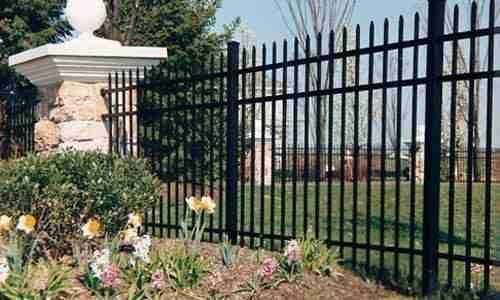 Premium Elite Aluminum Fence Models For Your Fence Aluminum Fence Backyard Fences Fence Landscaping