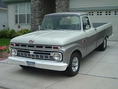 1966 Ford F100 Ford Pickup Trucks Classic Ford Trucks Old Pickup Trucks